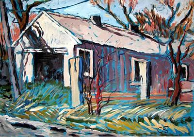 Genre Painting - 3 Oclock  Nov 7  2010 by Charlie Spear