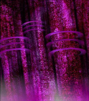 Translucence Digital Art - 3 Of 1 by Rev River Ivanova
