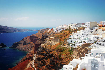 Photograph - Oia Of Santorini by Anastasy Yarmolovich