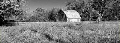 Old Barn In The Meadow Art Print by Scott D Van Osdol