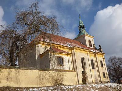 Czech Digital Art - Old Church by Miroslav Nemecek