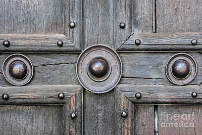 Wild Weather - Old door detail by Elena Elisseeva