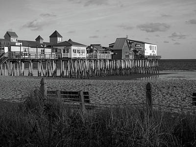 Photograph - Old Orchard Beach Maine by Trace Kittrell