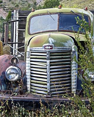 Photograph - Old Truck by Anthony Jones