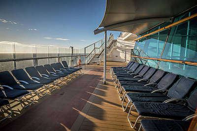 Photograph - On Cruise Ship Deck To Alaska by Alex Grichenko