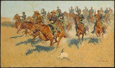 On The Southern Plains Original by Frederic Remington