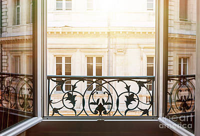 Sunflare Photograph - Open Window In Toulouse by Elena Elisseeva