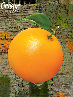 Orange Collection Print by Marvin Blaine