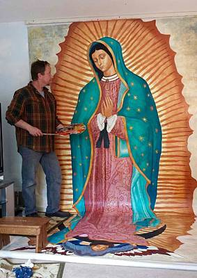 Our Lady Of Guadalupe Art Print by Patrick RANKIN