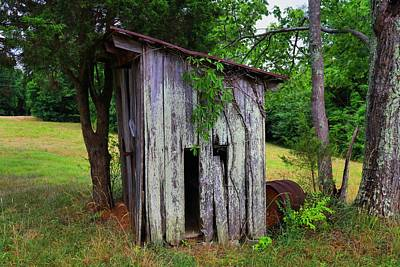 Photograph - Outhouse by Kathryn Meyer