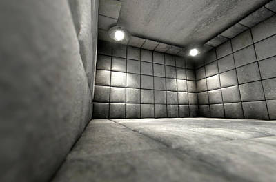 Padded Cell Dirty Art Print