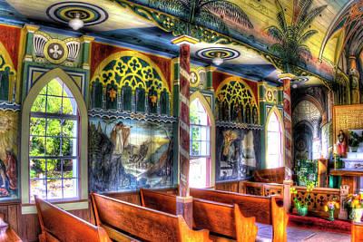 Photograph - Painted Church by Joe  Palermo