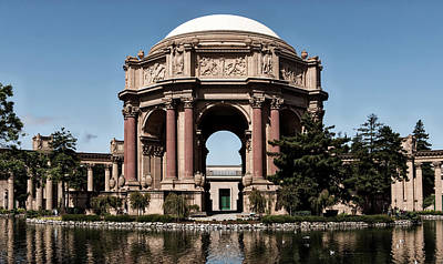 Fine Art Relief Photograph - Palace Of Fine Arts by L O C