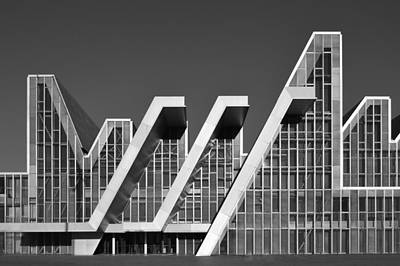 Photograph - Palacio De Congresos Zaragoza Spain by Marek Stepan