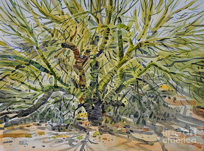 Verde Painting - Palo Verde by Donald Maier