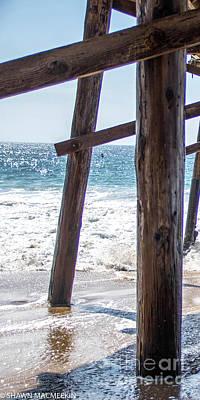 Photograph - 3 Panel Pier Part 1 by Shawn MacMeekin
