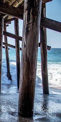 Photograph - 3 Panel Pier Part 3 by Shawn MacMeekin