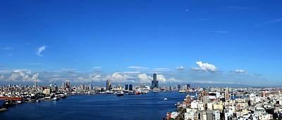 Photograph - Panorama Of Kaohsiung City In Taiwan by Yali Shi