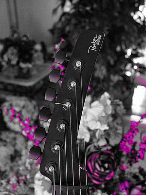 Photograph - Parker Fly Guitar by Guitar Wacky