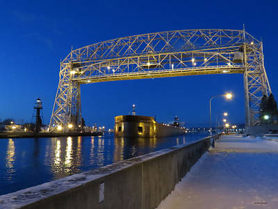 Duluth Photograph - Paul R. Tregurtha by Alison Gimpel