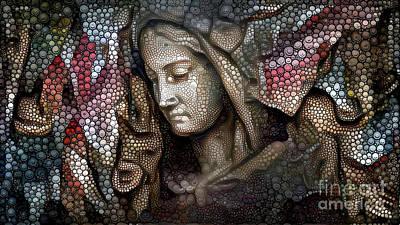 Peaceful Madonna Art Print