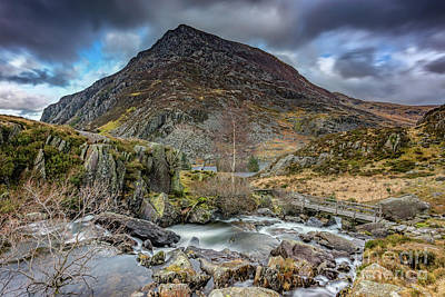 Photograph - Pen Yr Ole Wen Mountain by Adrian Evans