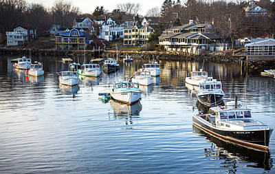 Photograph - Perkins Cove by Robert Clifford
