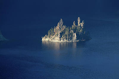 Photograph - Phantom Ship, Crater Lake National Park, Oregon by Robert Mutch