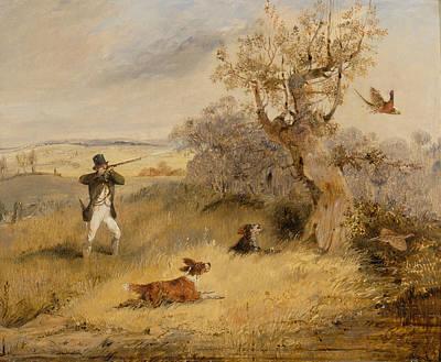 Painting - Pheasant Shooting by Treasury Classics Art