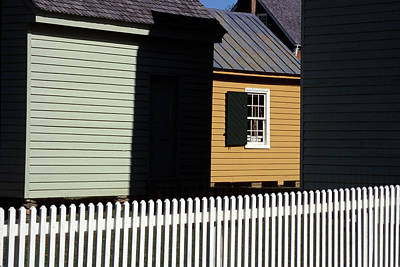Photograph - Picket Fence, Appomattax by Carl Purcell
