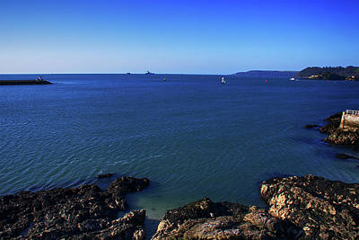 Photograph - Plymouth Sound by Chris Day