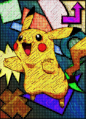 Pokemon Photograph - Pokemon - Pikachu by Kyle West