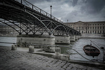Photograph - Pont Des Arts Paris by Henri Irizarri