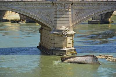 Photograph - Tiber Bridges by JAMART Photography