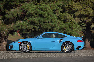 Photograph - #porsche 911 #turbo S #print by ItzKirb Photography