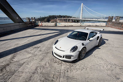 Photograph - #porsche #gt3rs #print by ItzKirb Photography