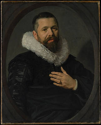 Portrait Of A Bearded Man With A Ruff Original by Frans Hals