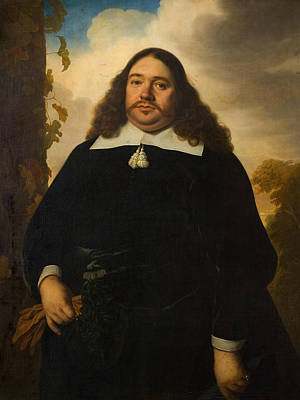 Painting - Portrait Of A Man by Bartholomeus van der Helst