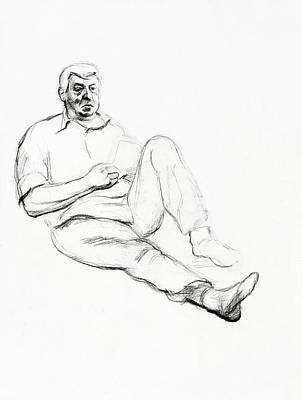 Typography Tees - Portrait of a senior man by Ivailo Nikolov by Boyan Dimitrov