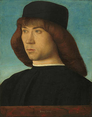 Painting - Portrait Of A Young Man by Giovanni Bellini