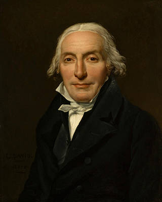 Painting - Portrait Of Jean-pierre Delahaye by Jacques-Louis David