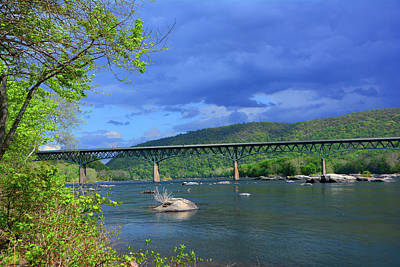 Photograph - Potomac River Near Harpers Ferry by Raymond Salani III