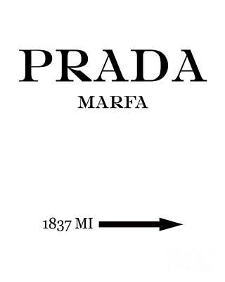 Prada Marfa Mileage Original by Edit Voros