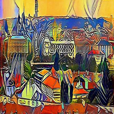 prague castle - My WWW vikinek-art.com Art Print