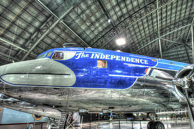Presidential Aircraft, Douglas Vc-118, The Independence  Art Print