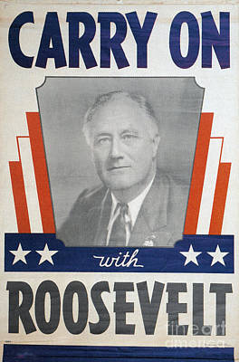 Photograph - Presidential Campaign, 1940 by Granger