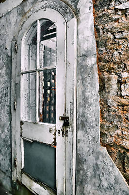 Photograph - Prison Passage Door by JAMART Photography