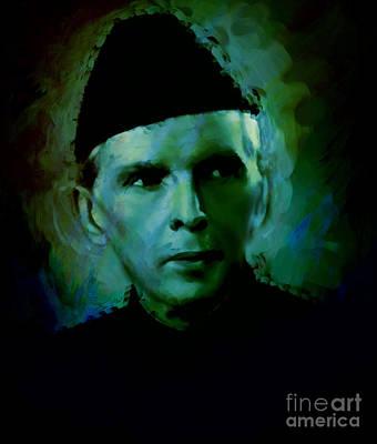 Quaid E Azam Art Print