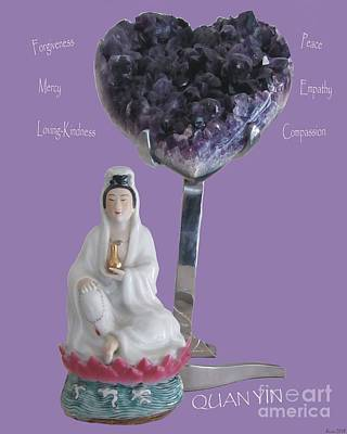 Photograph - Quan Yin by Marlene Rose Besso