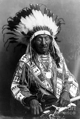 Red Cloud, Oglala Lakota Indian Chief Art Print by Science Source